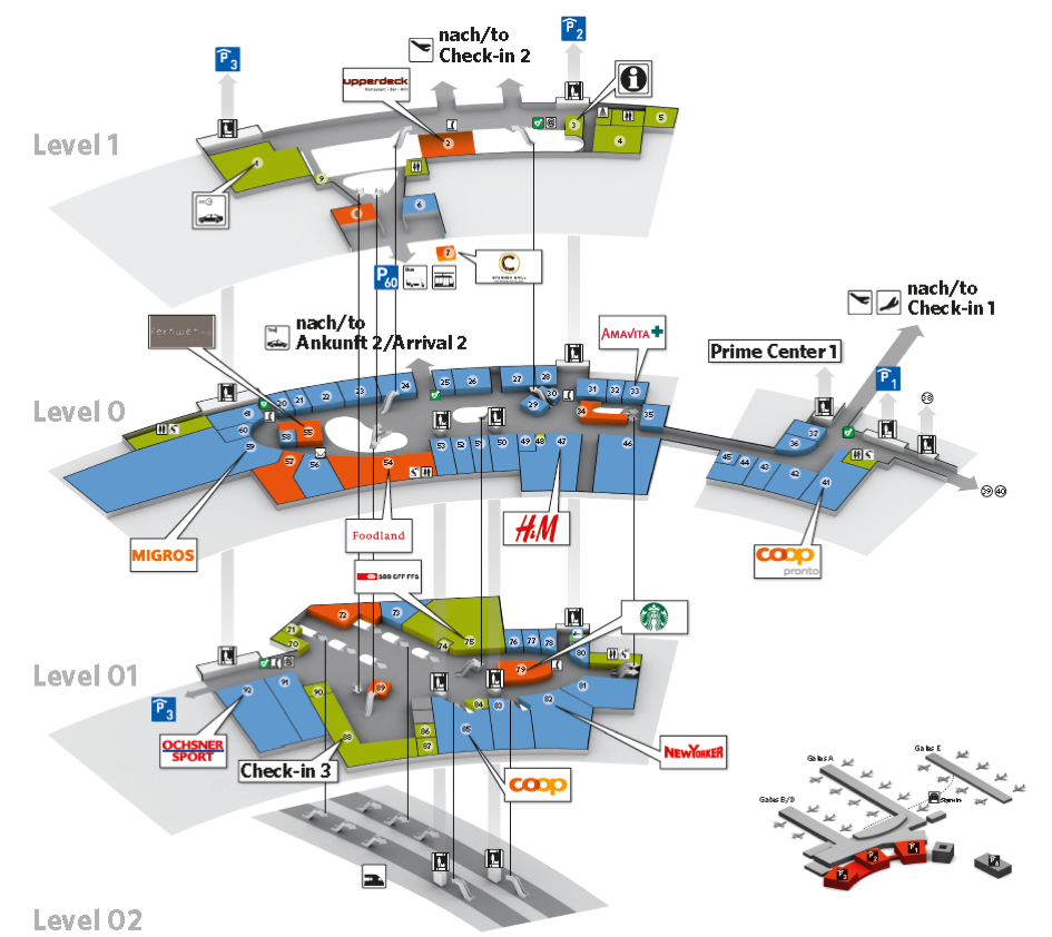 Map Airport
